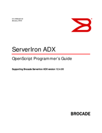 To view the document Brocade Communications Systems ServerIron ADX 12.4.00 Service Manual